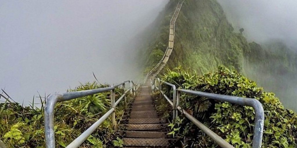 mysterious stairs