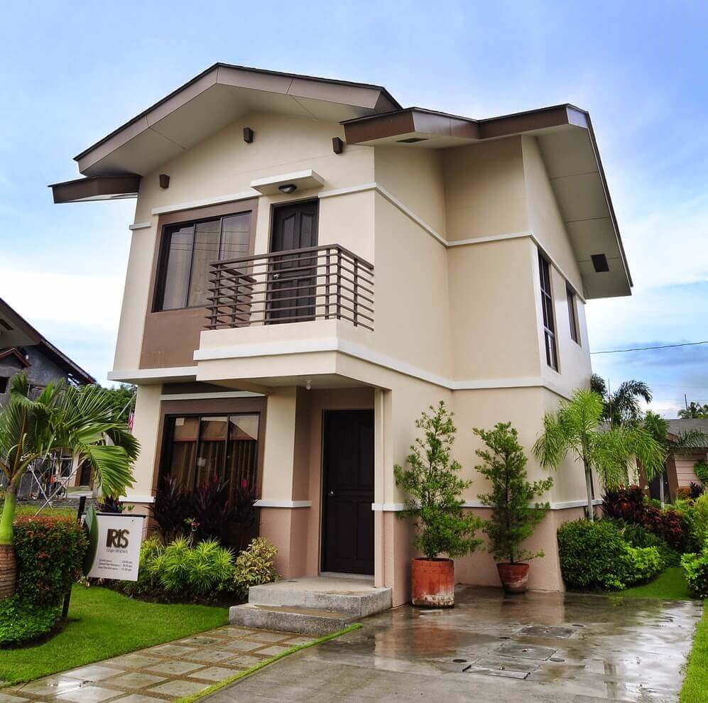 Home Design Ecological Ideas: Popular 2 Story Small House Designs In The Philippines