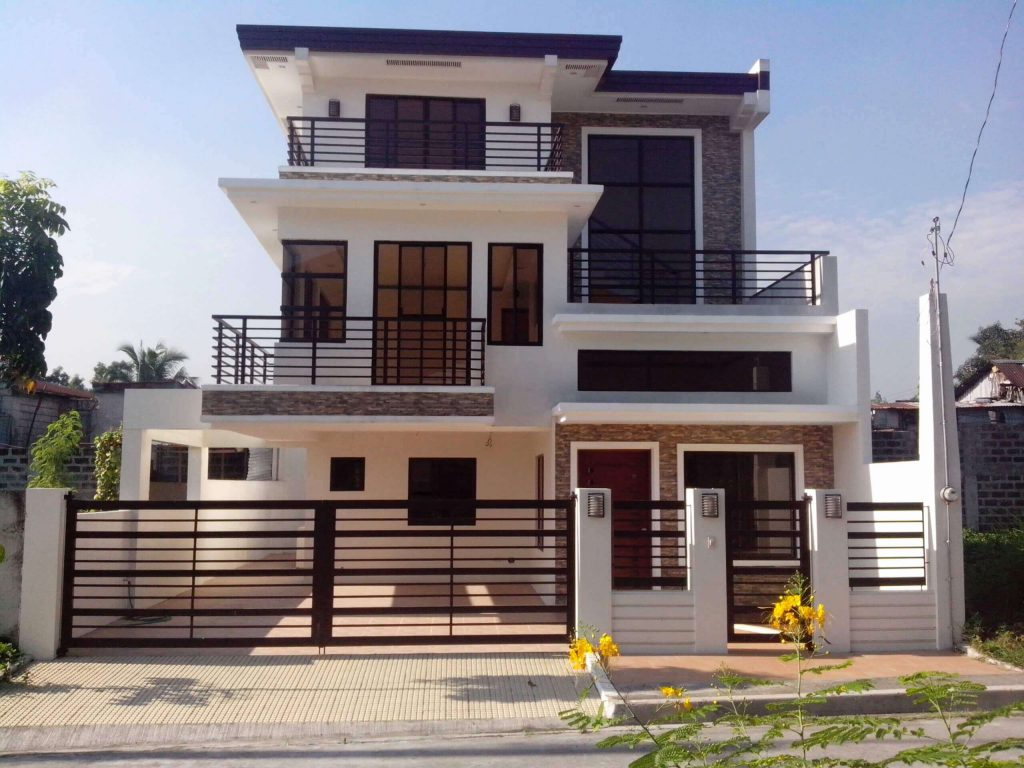 9.2 story small house designs Philippines 1024x768 - Download Small House Design With Terrace In The Philippines  Images