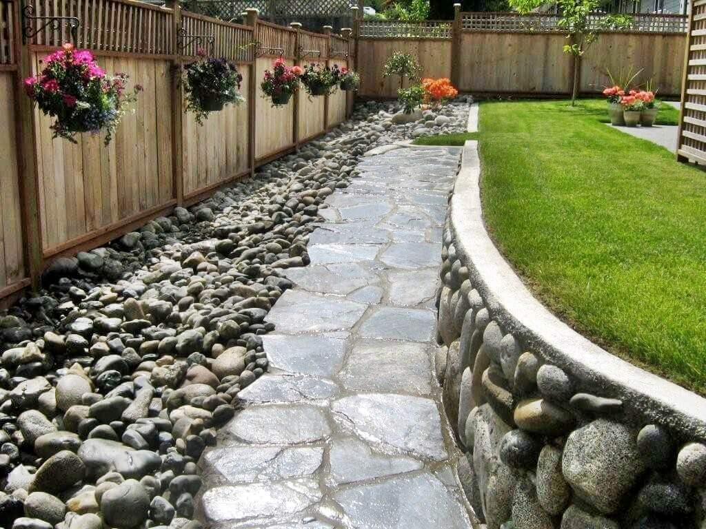 21 Stunning Rock Landscaping Ideas For Backyard The Architecture Designs