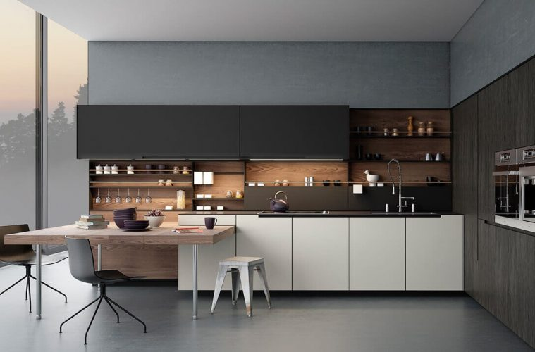 51 Black And White Kitchen Designs Modern Home Ideas The