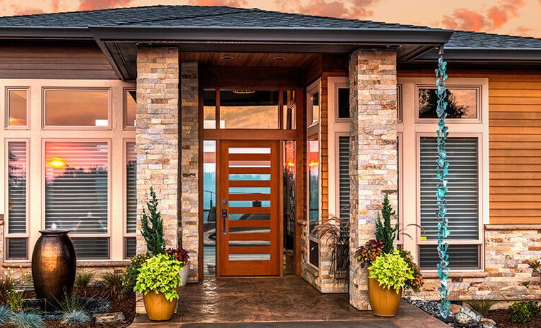 17 Modern Front Door Design Ideas For Stunning Exterior Designs - Exterior-door-designs-design