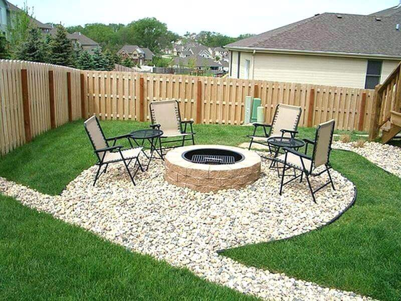 rock landscaping ideas backyard