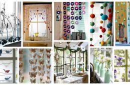 DIY window decorating ideas