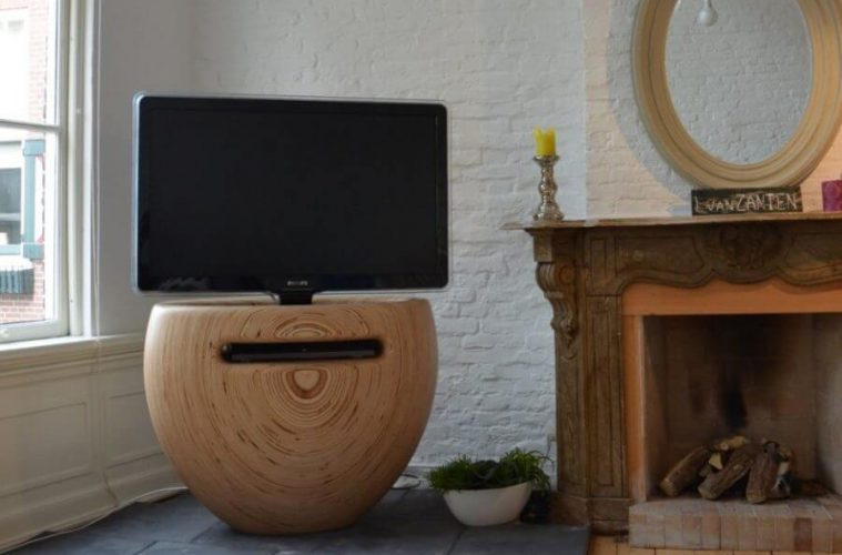 Stylish Tv Stand Designs : Tv stand with wheels tv stands entertainment centers you ll love