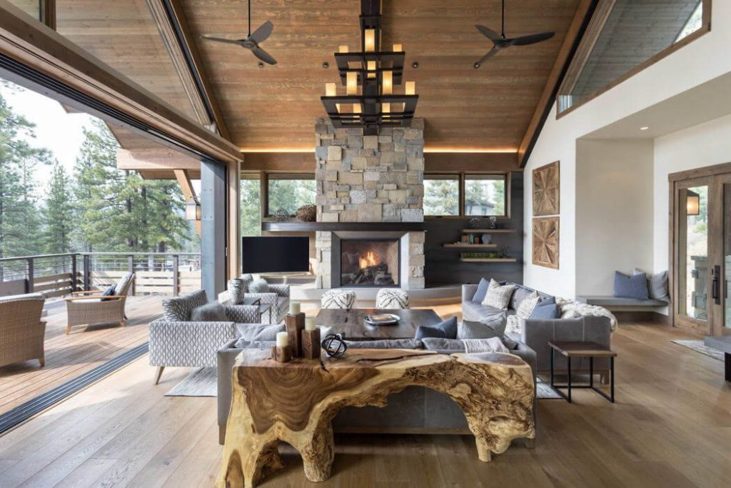 rustic homes interior
