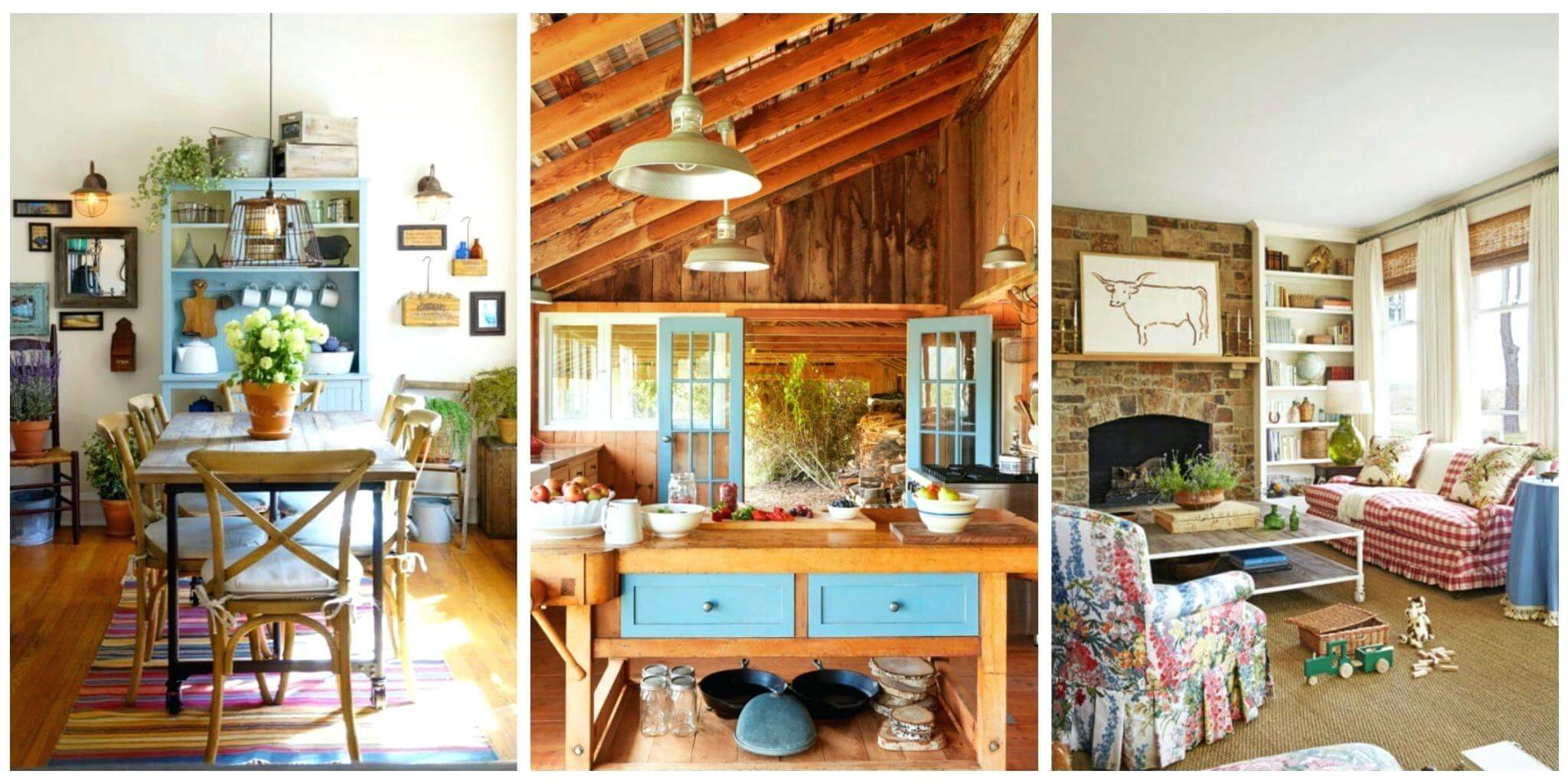 rustic homes interior