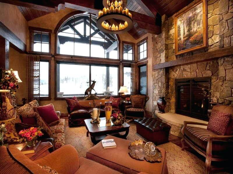 Source Decoist Rustic Homes Interior