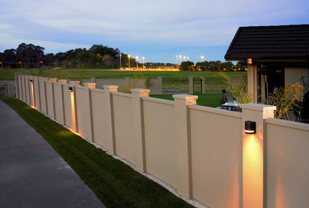 wall fence designs for homes