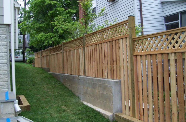 wall fence designs