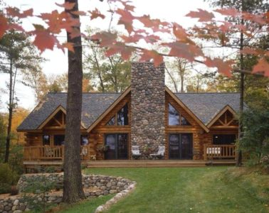 brick and stone homes