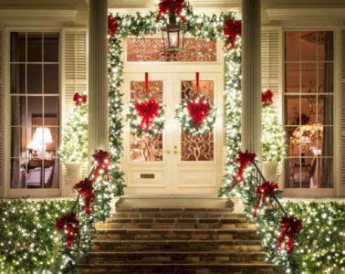 front porch christmas decor ideas