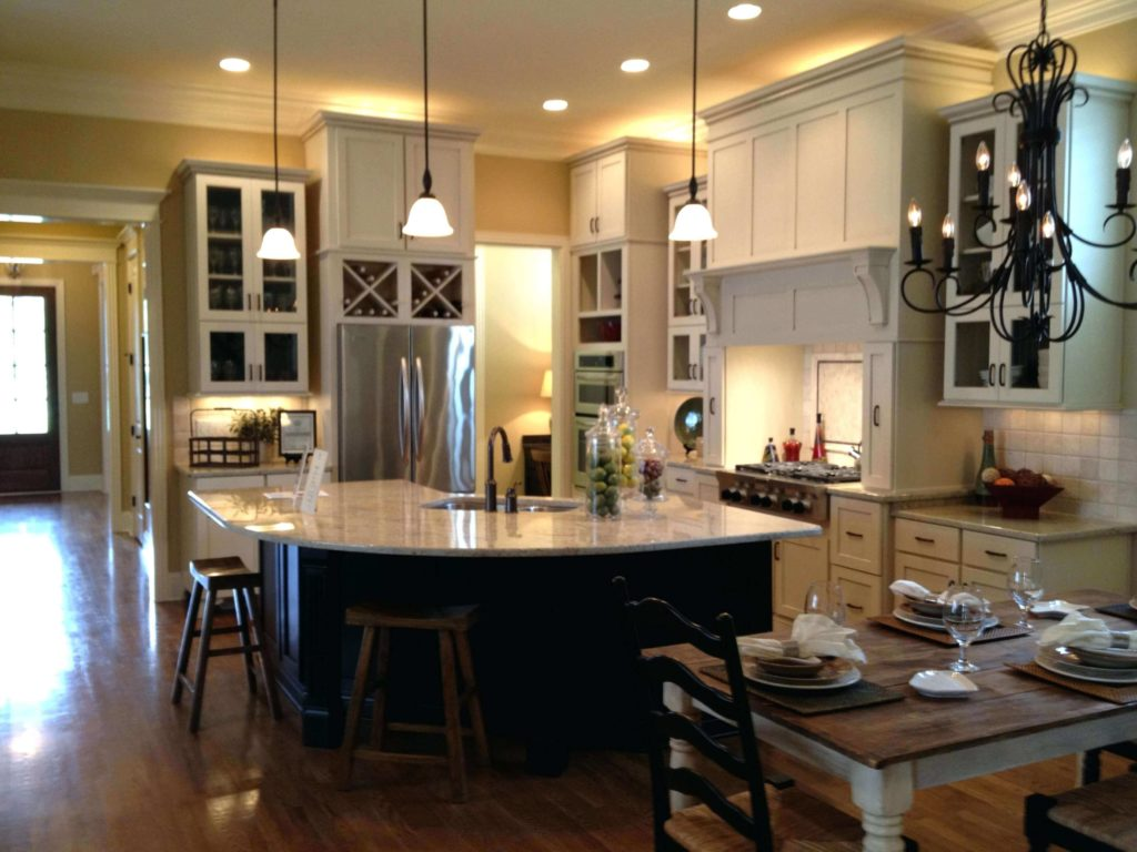 open concept kitchen