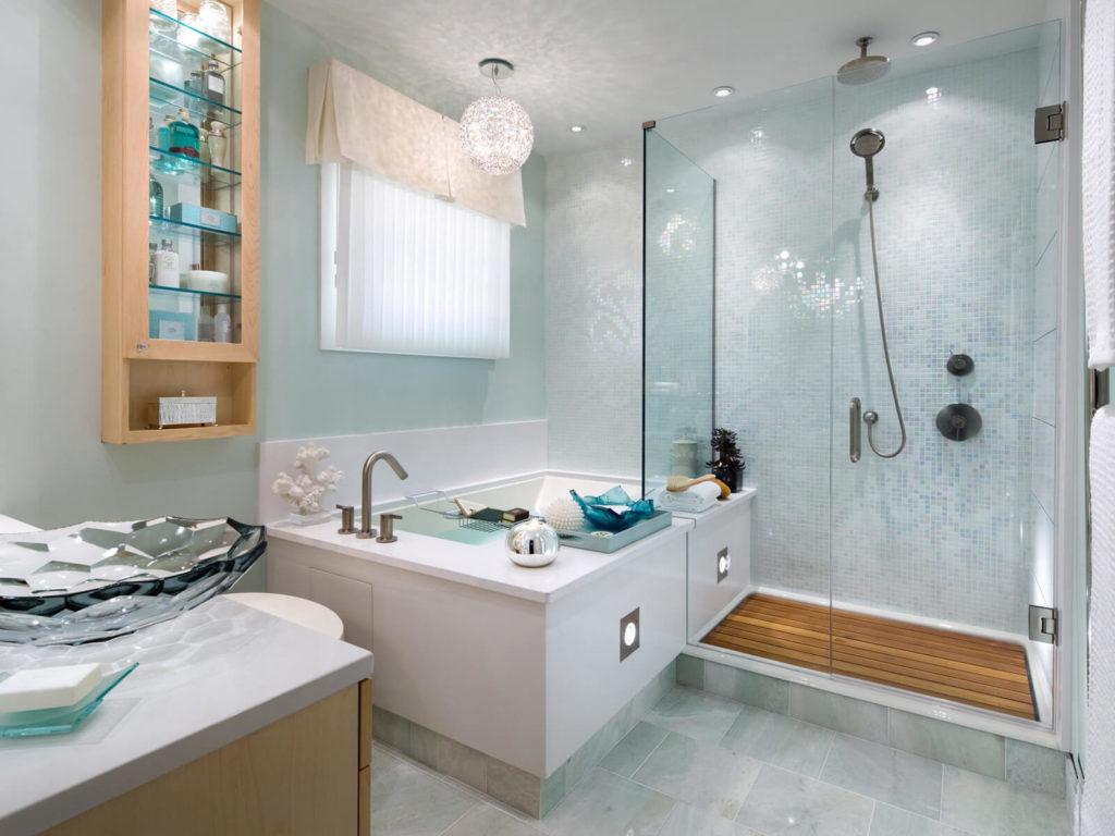 small shower ideas