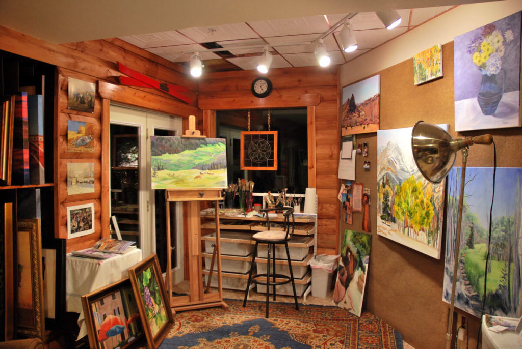 artist studio design ideas