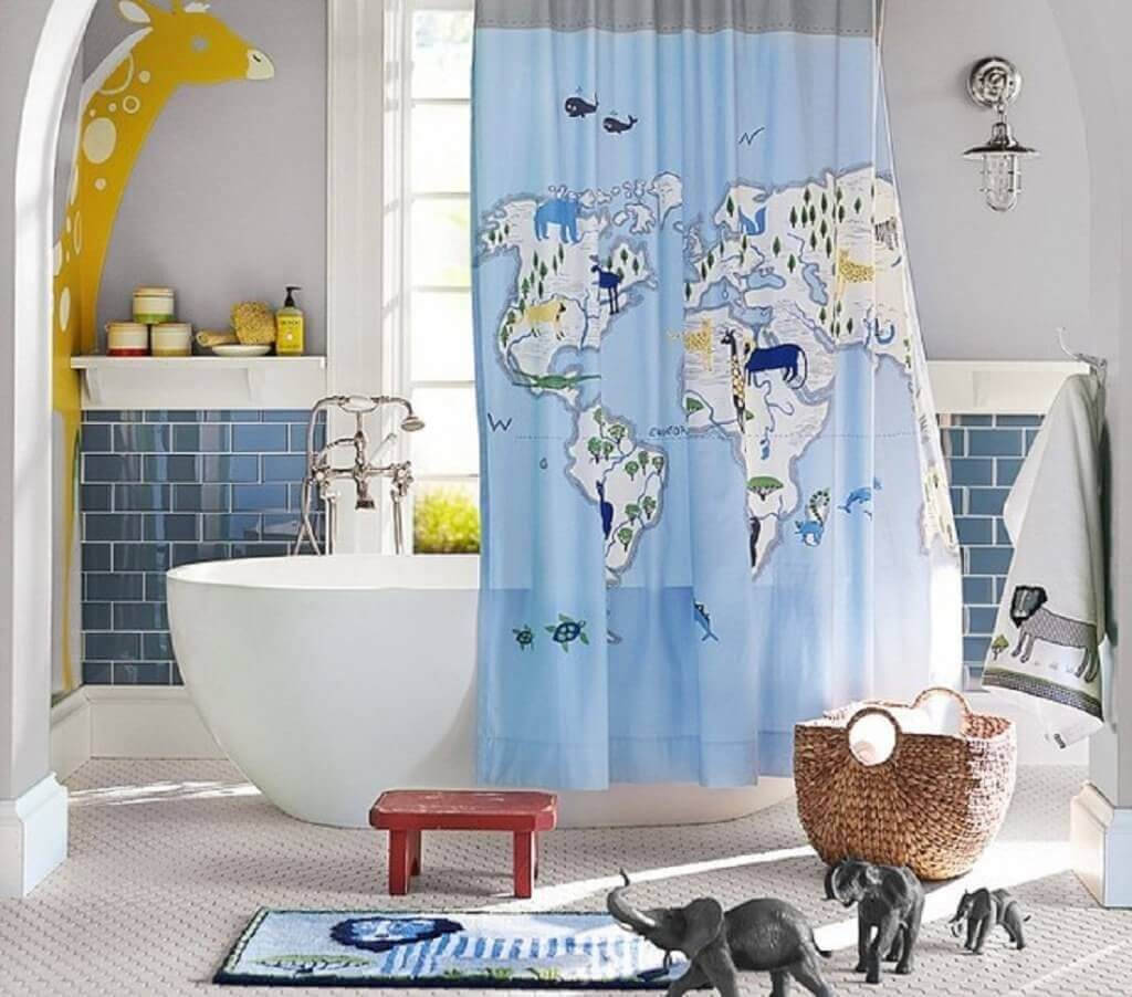bathroom shower curtains ideas
