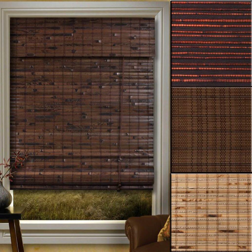 bamboo shades images