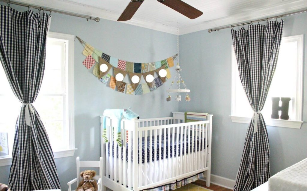 Stylist Curtains For Baby Boy Room