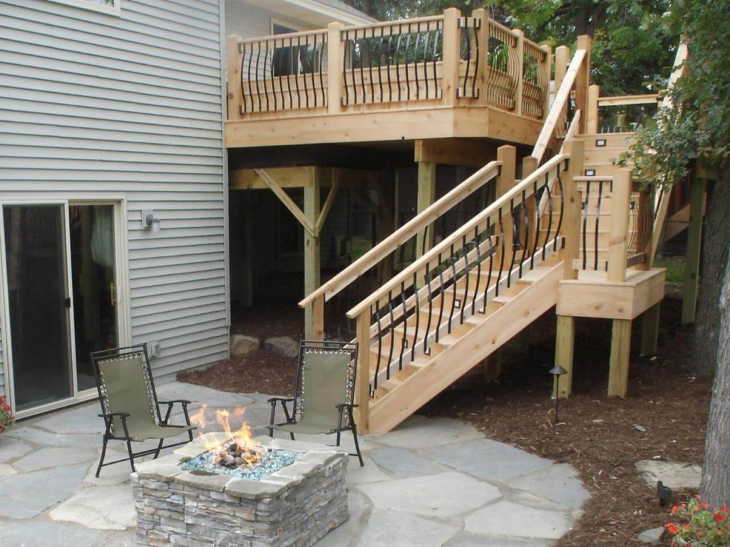 outdoor stairs design