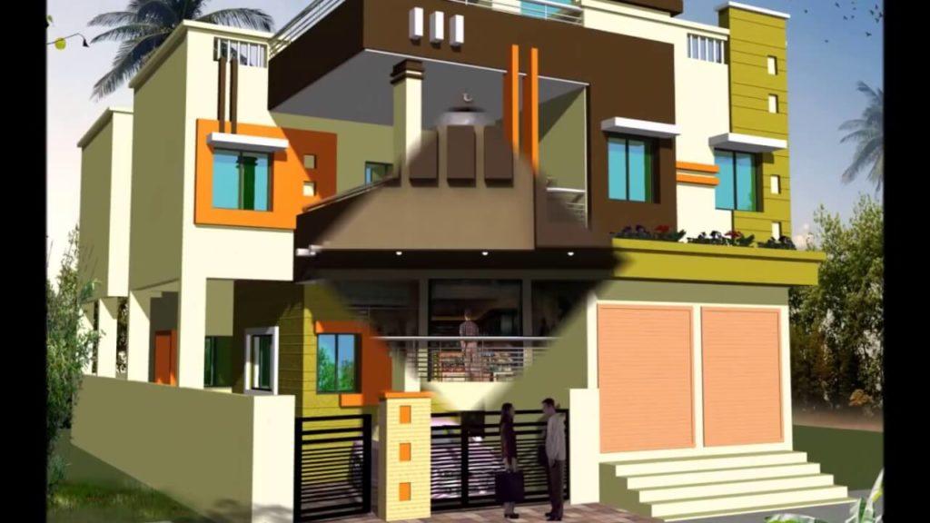 small shop front elevation design