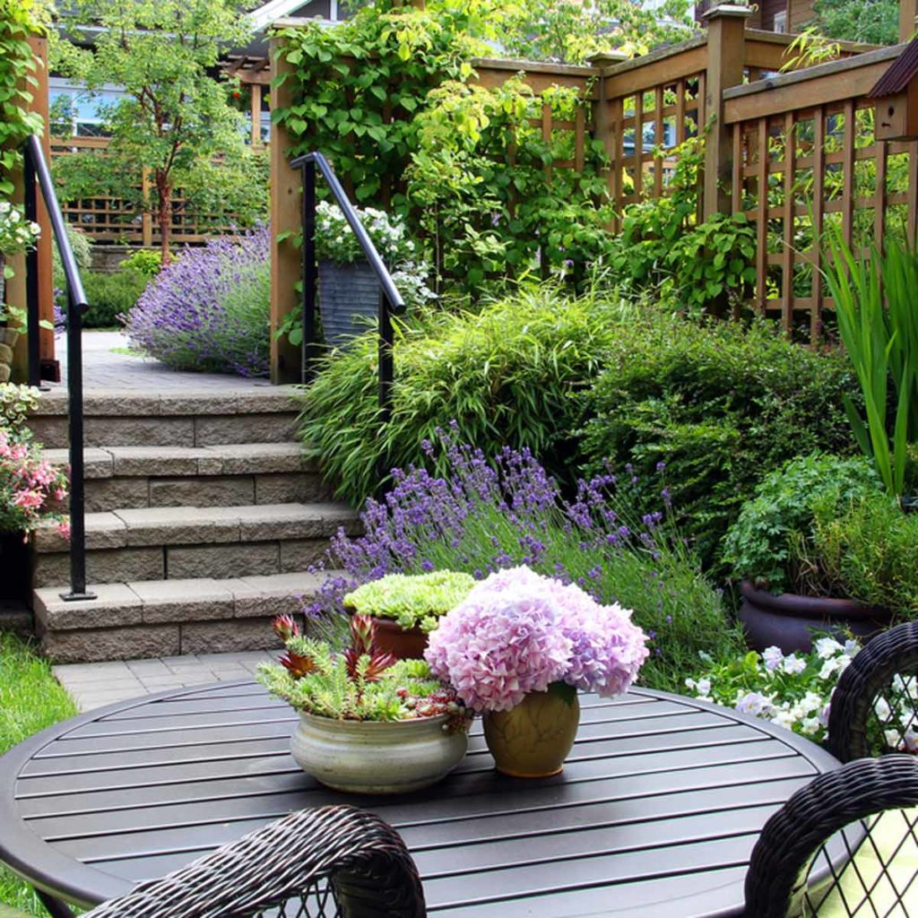30 landscape design tips you must see for small spaces