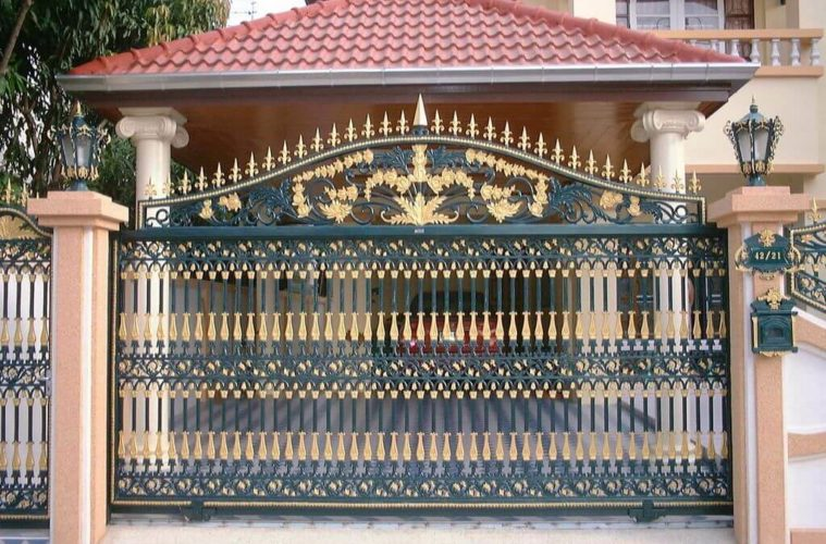 25 Simple Gate Design For Small House Updated 2019