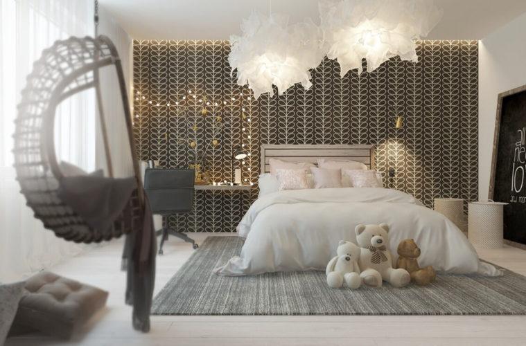 31+ Stunning Children\'s Bedroom Lighting Ideas With Images ...