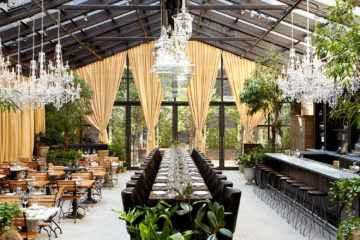 garden restaurant design ideas