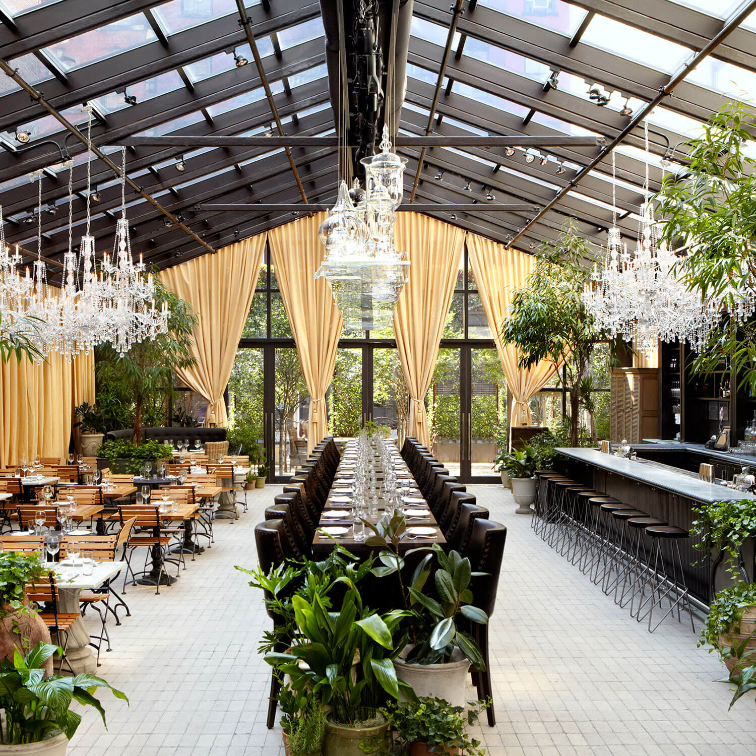 15 Garden Restaurant Design Ideas With Interior Look The Architecture Designs
