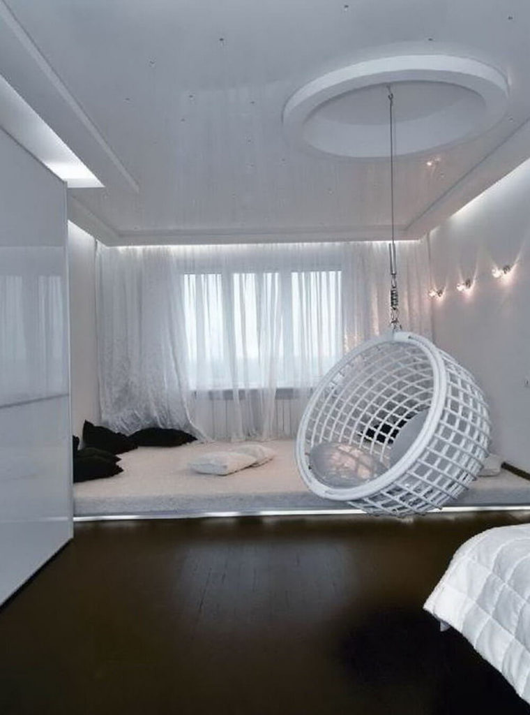Stunning Indoor Swing Chairs Idea For Bedroom Will Make You Amaze The Architecture Designs