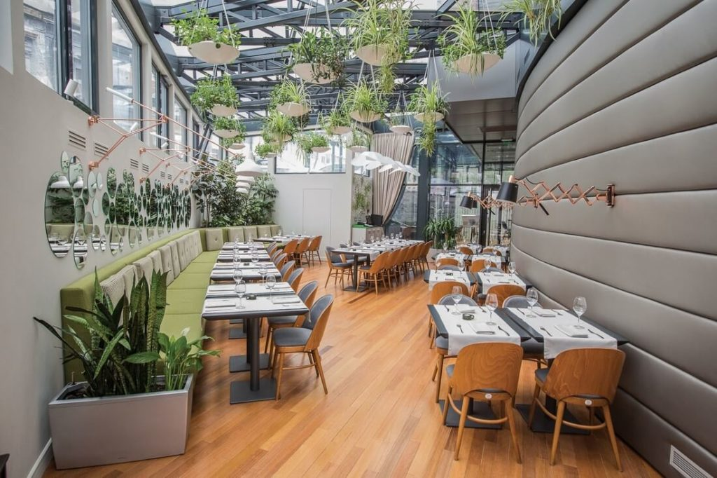 15 Garden Restaurant Design Ideas With Interior Look - The ...