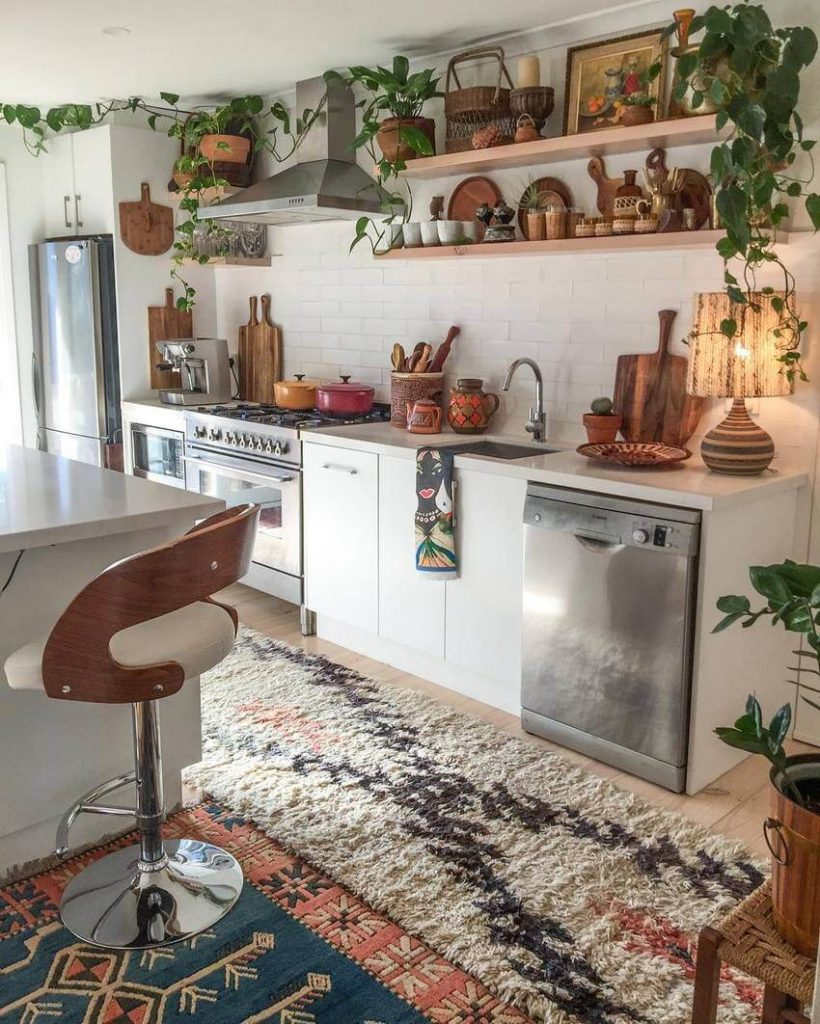 Colorful Boho Chic Kitchen Designs For Modern Kitchen