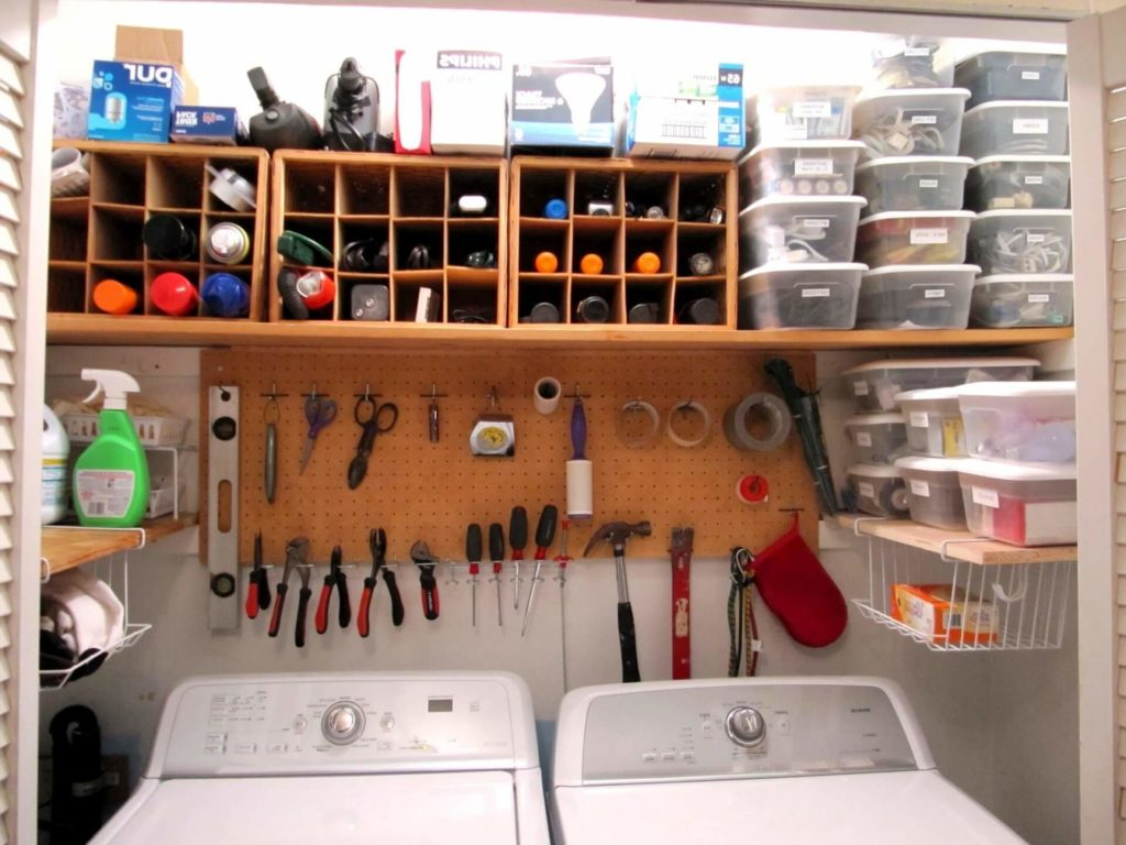 home basement storage ideas