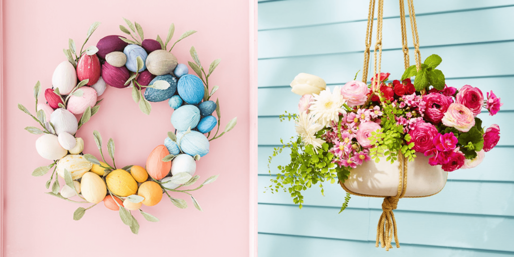outdoor easter decorations pinterest