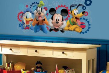 mickey mouse wall decor