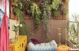 apartment balcony garden decorating ideas