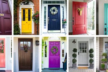 front door colors ideas