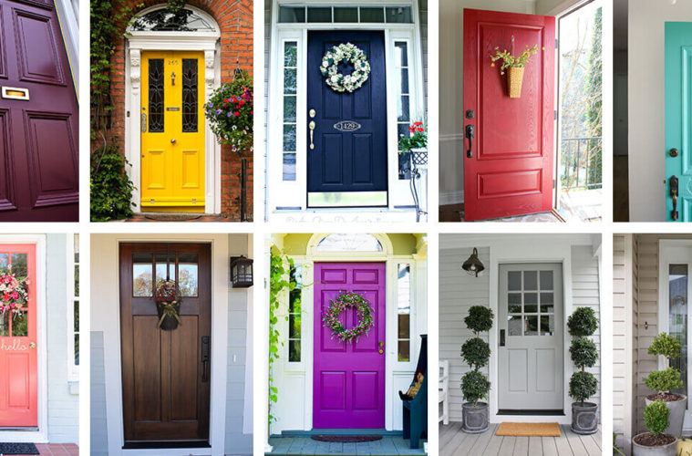 front door colors ideas