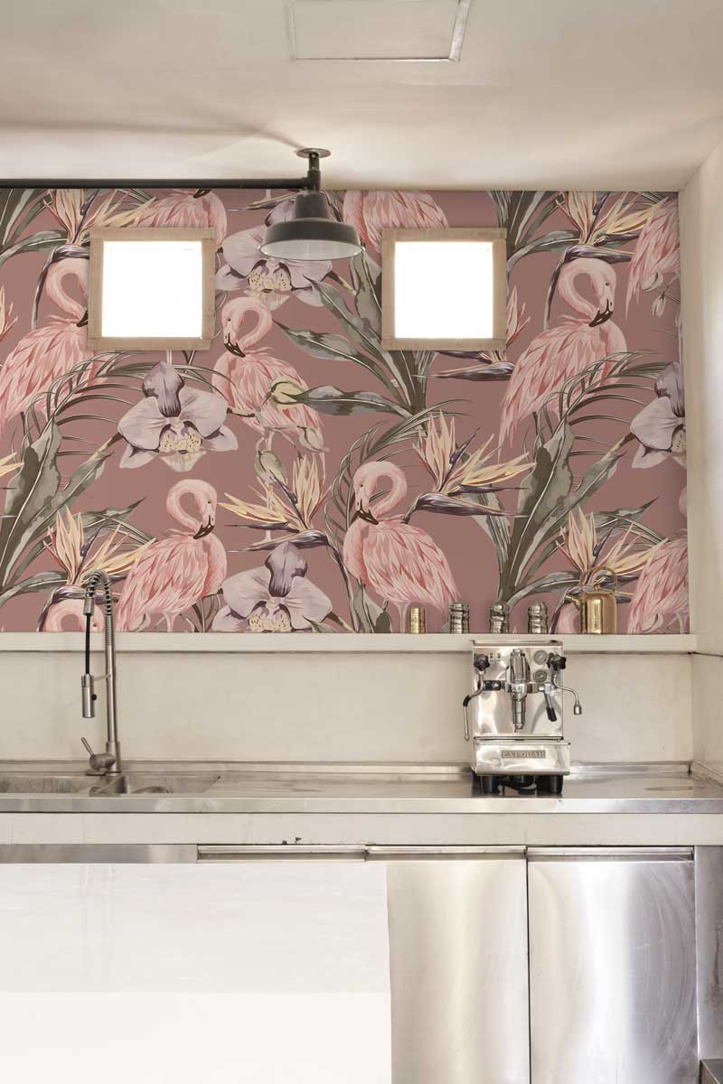 Must See Modern Wallpaper Design Ideas For Kitchen