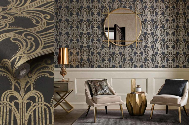 1- art deco wallpaper designs