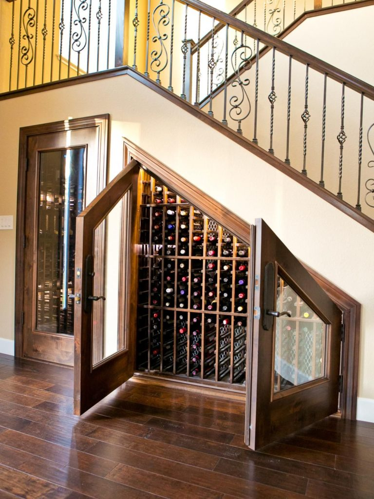 space under stairs design ideas