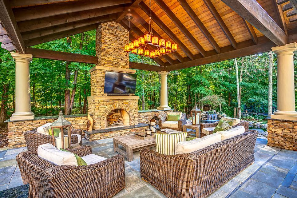 16- outdoor living room ideas