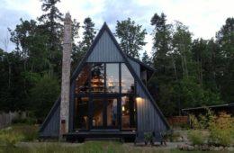 A-frame house designs