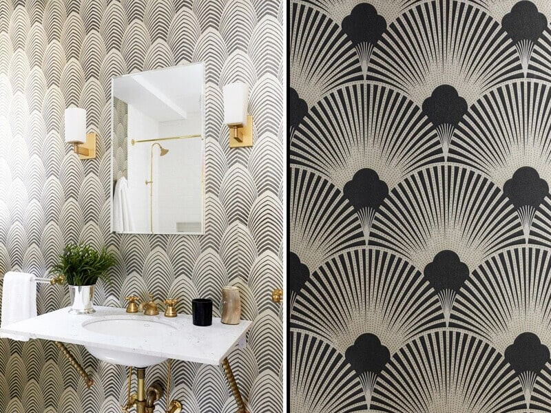 2- art deco wallpaper designs