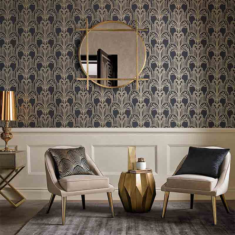 5- art deco wallpaper designs