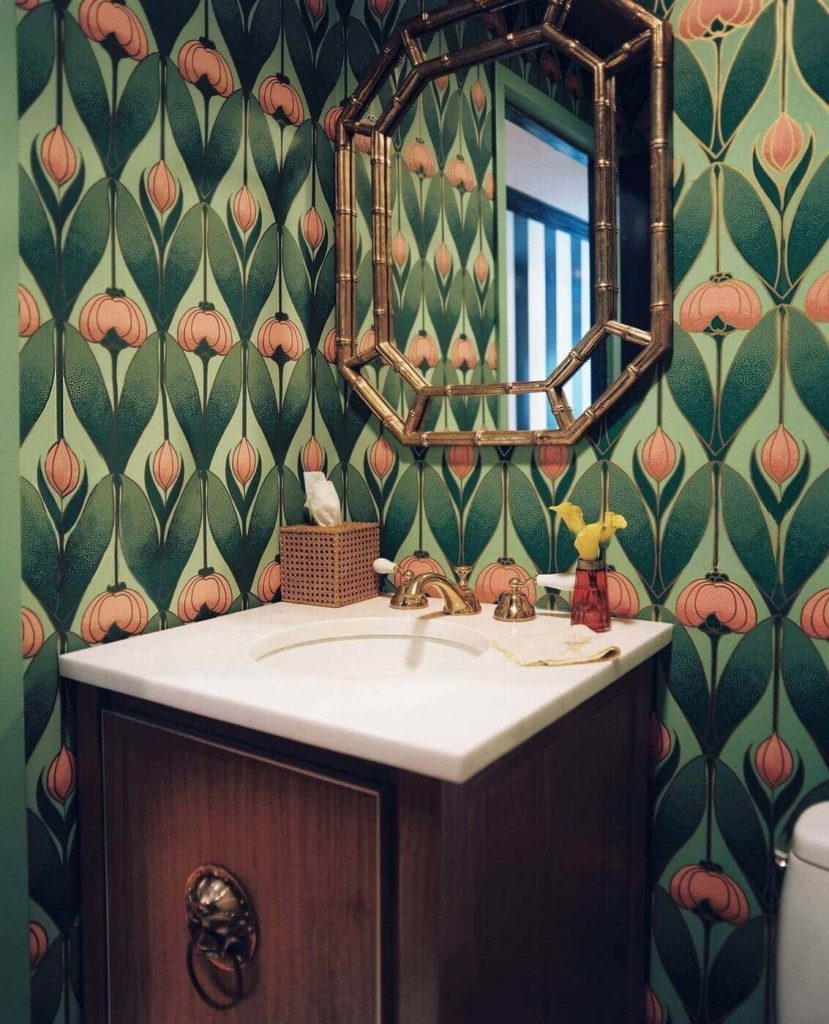 8- art deco wallpaper designs
