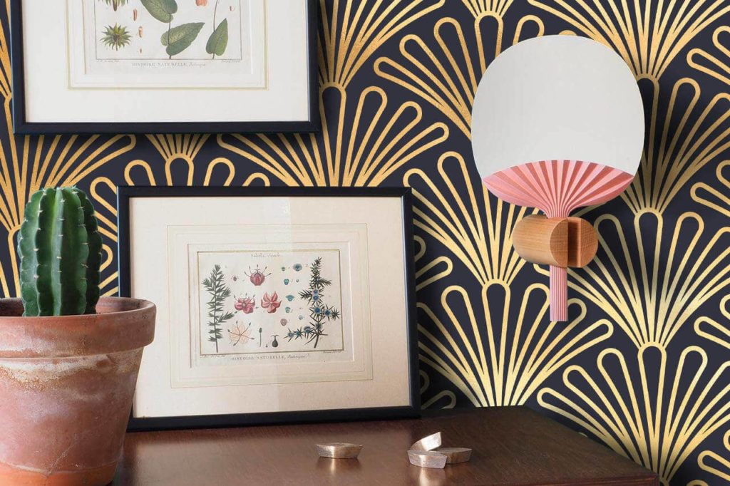 9- art deco wallpaper designs
