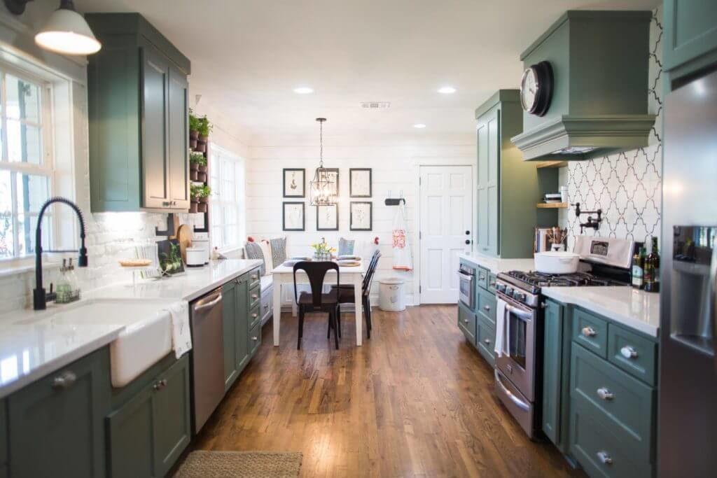 fixer upper kitchens