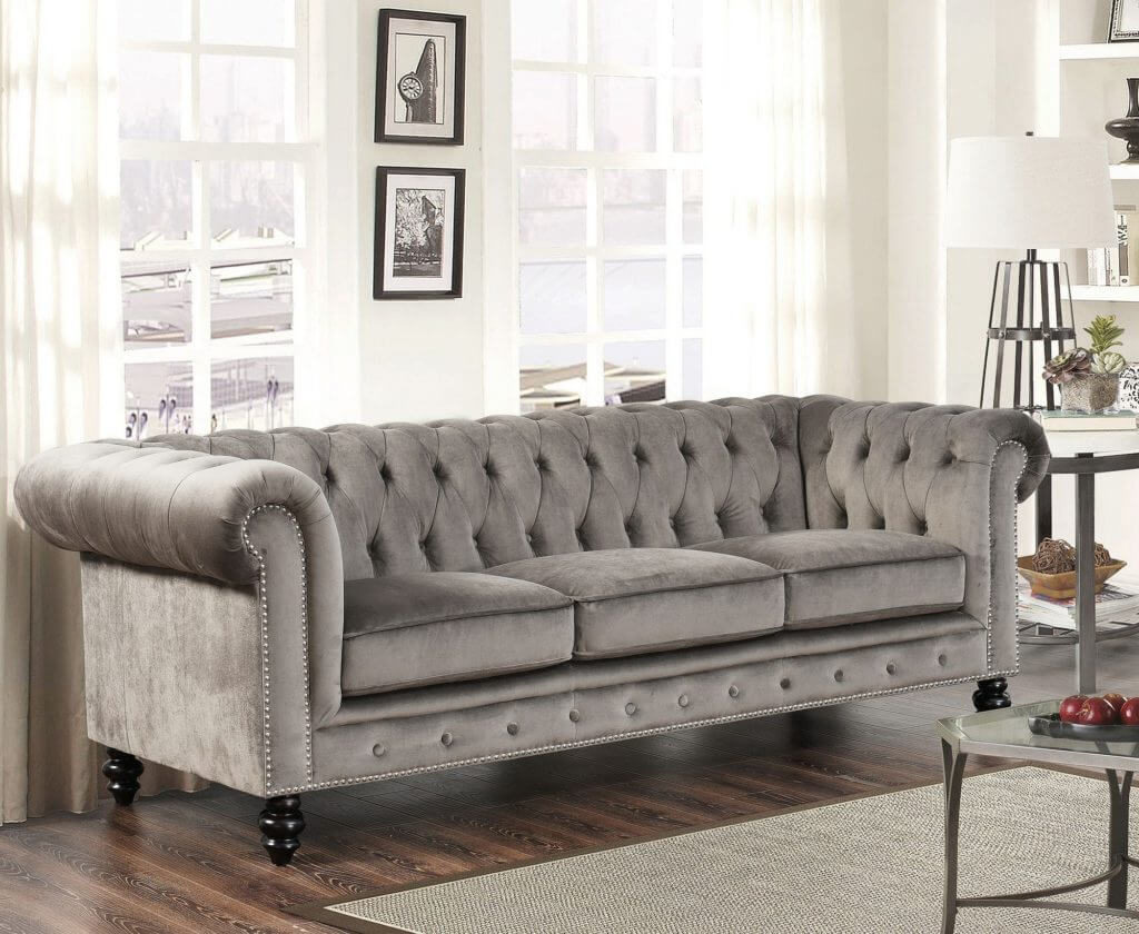 chesterfield sofa design ideas