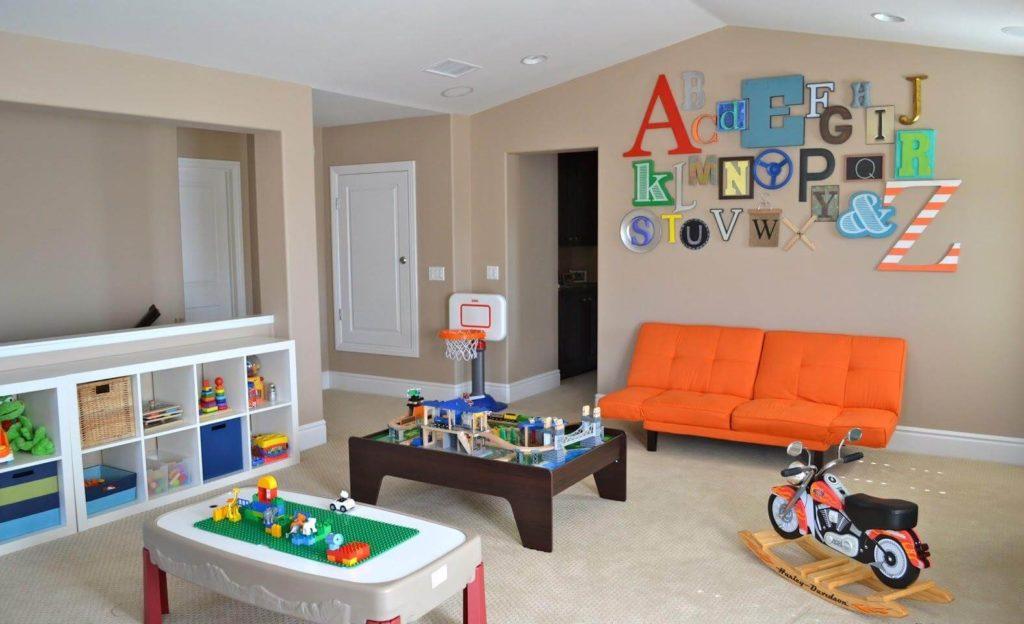 basement playroom ideas